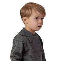Кофта с длинным рукавом для мальчика 3,5,6,7 лет
