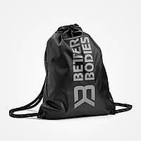 Спортивный мешок Stringbag BB, Black/Grey