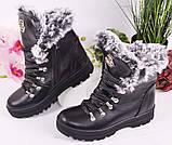Ботинки подростковые для девочки из натуральной кожи от производителя модель МАК1580, фото 6