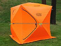 Палатка зимняя Куб - Fly Cat Winter Tent Ice Cube - Оранжевая