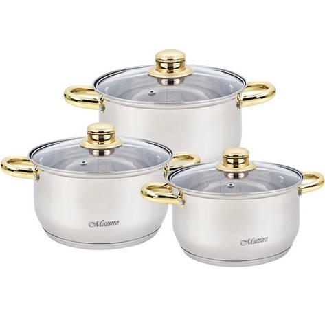 Набор посуды Maestro 6 предметов MR-2006-6М, фото 2