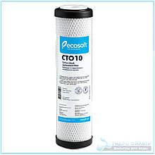 """Картридж из прессованного активированного угля Ecosoft CTO 2,5""""х10"""""""