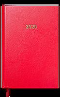 Ежедневник датированный в линию Buromax 2020 Strong, 336 страниц, A5 красный