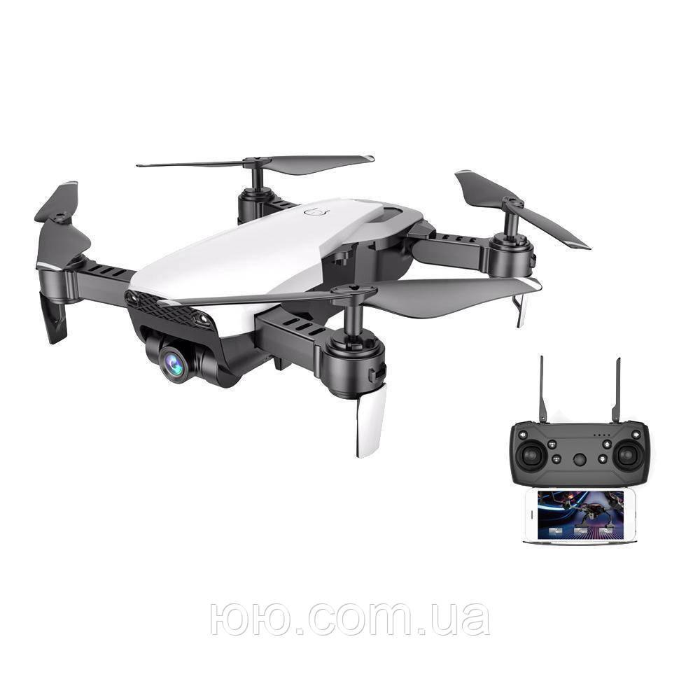 Квадрокоптер S161 Складной четырехосевой дрон с Wifi камерой