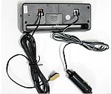 Автомобильные часы с термометром и вольтметром VST 7010V, фото 2