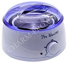 Воскоплав баночный Pro-wax 100 (400мл. Цвет в ассортименте)
