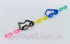 Очки для плавания с берушами в комплекте GRILONG G-7008