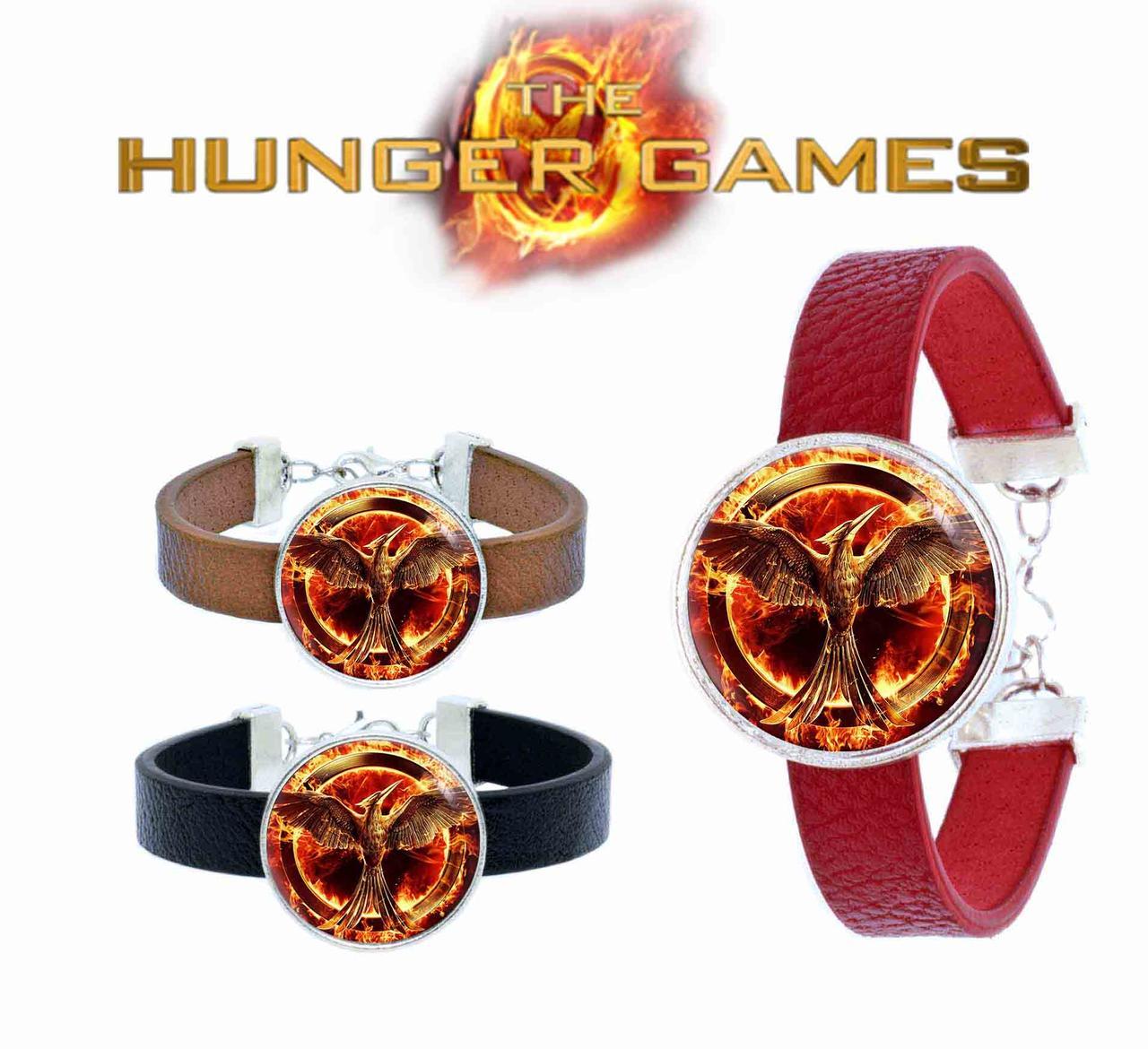 Браслет с логотипом сойки пересмешницы Голодные игры / The Hunger Games