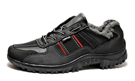 Кросівки утеплені зимові чоловічі ботинки, фото 2