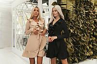 Женское модное платье - халат  ВХ9364, фото 1