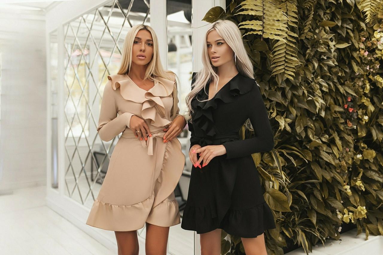 Женское модное платье - халат  ВХ9364
