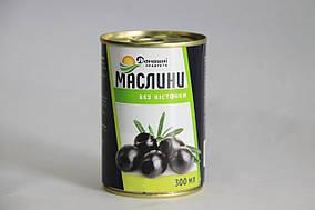Маслини Домашні продукти 300мл чорні б/к
