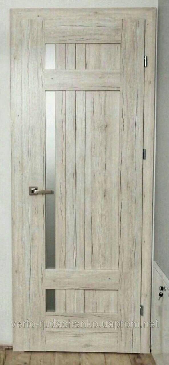 "Двери Verto Лада-Лофт 4.0 цвет Дуб беленый ""Verto-CELL Plus"""