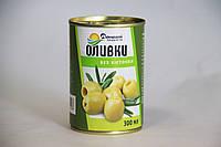 Оливки Домашні продукти 300мл зелені б/к