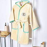 Детский махровый халат Мишка, фото 1