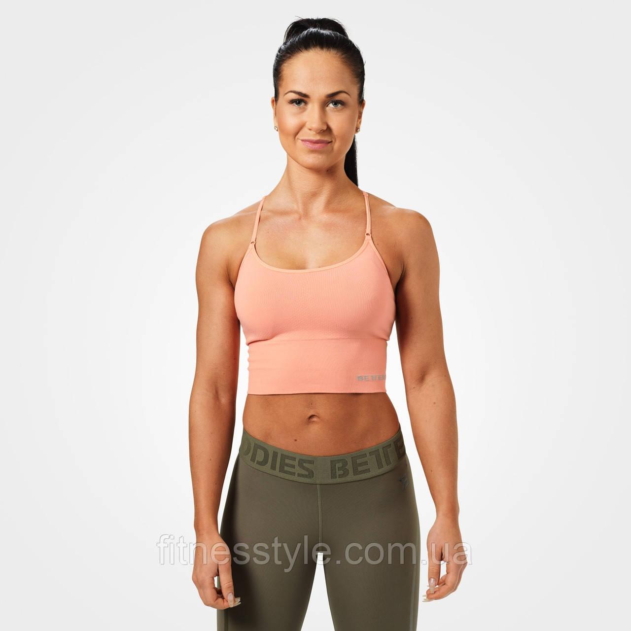 Спортивний топ Better Bodies Astoria seamless bra, Peach