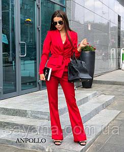 Женский костюм в деловом стиле в расцветкахПН-2-0919 (921)