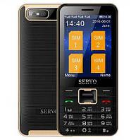 Телефон Servo V8100 Black 4 sim