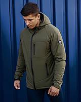 Осенняя мужская куртка Bezet Tech 2.0 хаки