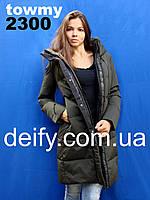 Пальто пуховик парка Towmy 2300 (S-2XL) пуховики, парки женские Towmy, Hailuozi, Peercat, Meajiateer, Visdeer