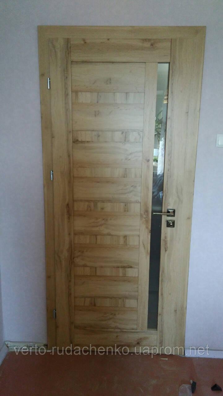 Двери EcoDoors PIANO 2 цвет: дуб ирландский