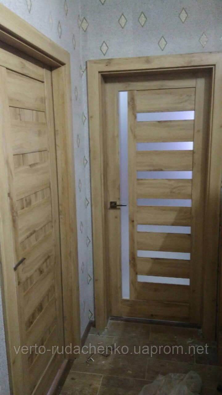 Двери EcoDoors PIANO 3 цвет: дуб ирландский