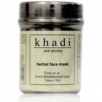 Аюрведическая маска для лица против морщин 50 гр -Khadi Anti-wrinkle face pack
