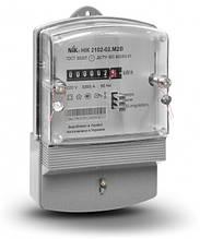 Лічильник електроенергії NiK 2102-02 М2 однофазний однотарифний 5 (60) А 220В