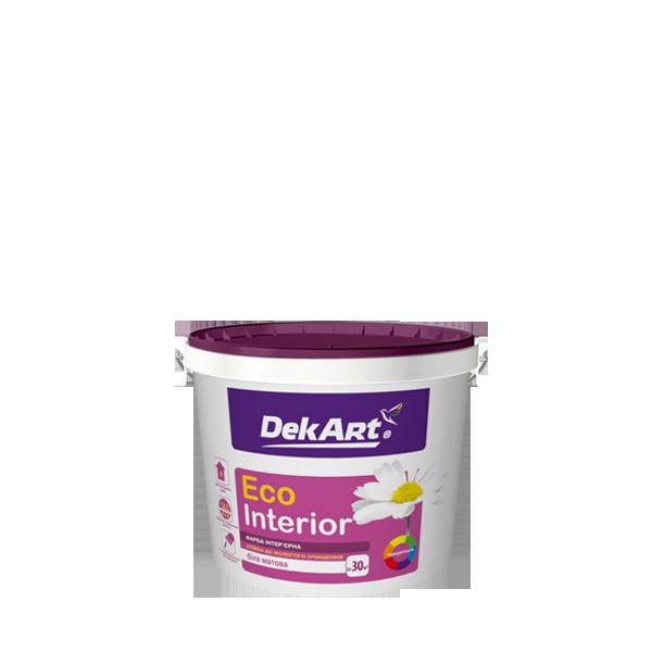 """Водно-дисперсионная краска для внутренних работ моющаяся TM """"DekART"""" Eko Interrior - 1,0 л."""