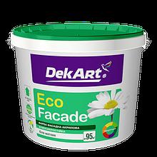 """Фасадная акриловая краска TM """"DekART"""" Eko Facade - 12,6 кг."""