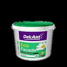 """Фасадная акриловая краска TM """"DekART"""" Eko Facade - 4,0 кг."""