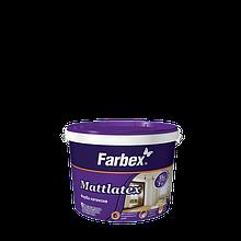 "Краска латексная ТМ ""Farbex"" Mattlatex - 1,4 кг."