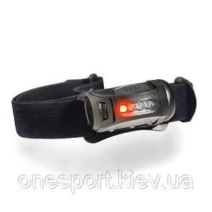 Ліхтар тактичний налобний Fred MPLS чорний/червоний + сертификат на 100 грн в подарок (код 174-43797)