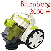 Пылесос вакуумный без мешка Blumberg 3000W.Пылесос контейнерный циклонического типа.