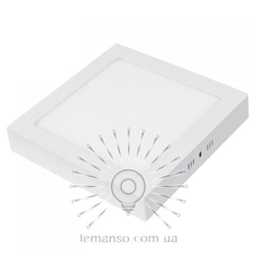 Накладная квадратная LED панель Lemanso 18W 1400LM 6400K / LM426