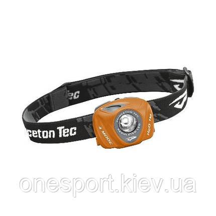 Ліхтар туристичний налобний EOS LED помаранчевий + сертификат на 100 грн в подарок (код 174-43831), фото 2