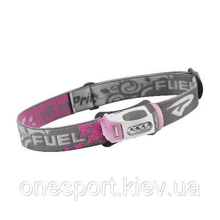 Ліхтар туристичний налобний Fuel LED рожевий + сертификат на 50 грн в подарок (код 174-43842), фото 2