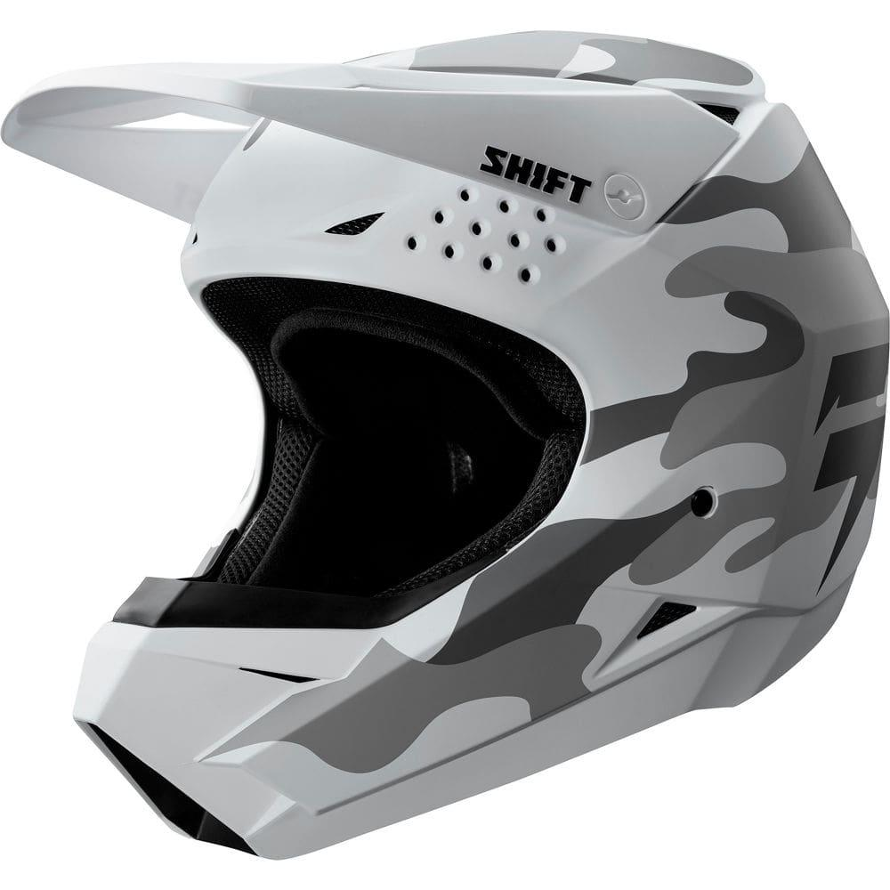 Мотошлем SHIFT WHIT3 [WHITE CAMO], XXL