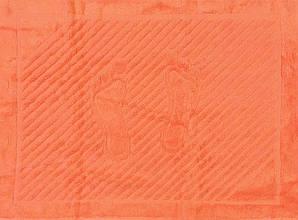 ТМ TAG Полотенце махровое для ног коралловое
