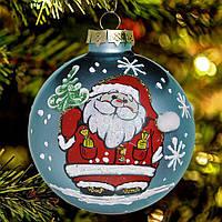 """Игрушка на елку """"Дед мороз""""85 мм, фото 1"""