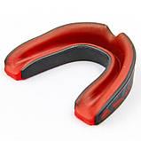 Капа боксерская односторонняя  в футляре EVERLAST 1400003 EVERSHIELD (черный-красный), фото 6