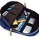 Рюкзак молодежный романтик 3в1  черный, фото 3