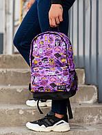 Рюкзак BeZet Dope 19  фиолетовый