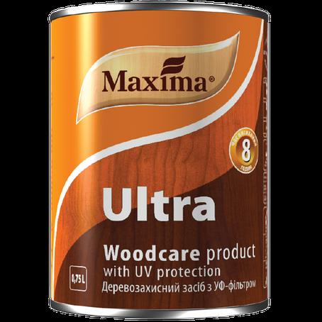 """Деревозащитное средство с УФ-фильтром TM """"Maxima"""" красное дерево - 0,75 л, фото 2"""