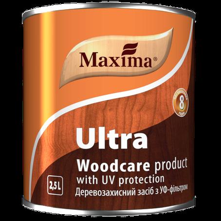 """Деревозащитное средство с УФ-фильтром TM """"Maxima"""" красное дерево - 2,5 л, фото 2"""