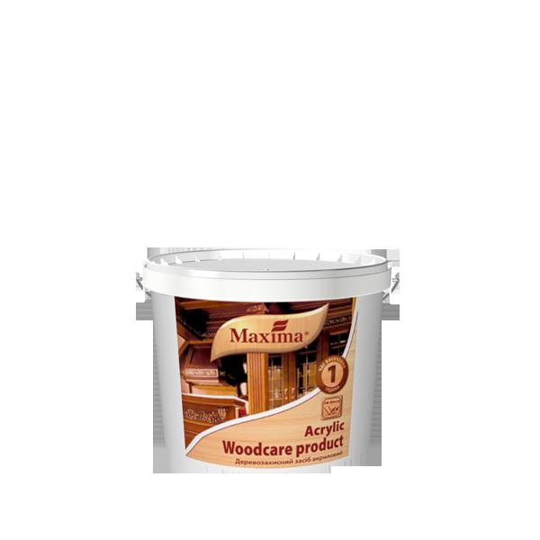 """Деревозащитное средство акриловое с УФ-фильтром TM """"Maxima"""" ореховое дерево - 2,5 л."""