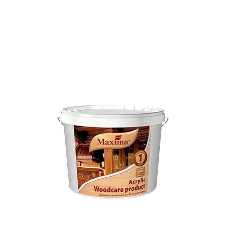 """Деревозащитное средство акриловое с УФ-фильтром TM """"Maxima"""" ореховое дерево - 2,5 л., фото 2"""