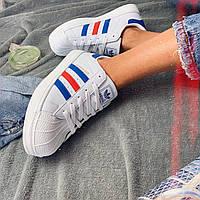 Кроссовки женские Adidas Superstar (реплика) 00020 ⏩ [ 36.37.39 ]