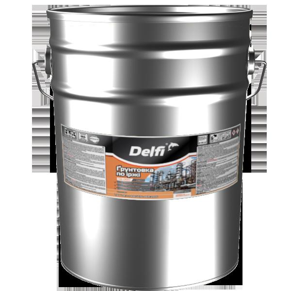"""Грунтовка по ржавчине TM """"Delfi"""" ПФ-010 М серая- 25,0 кг."""