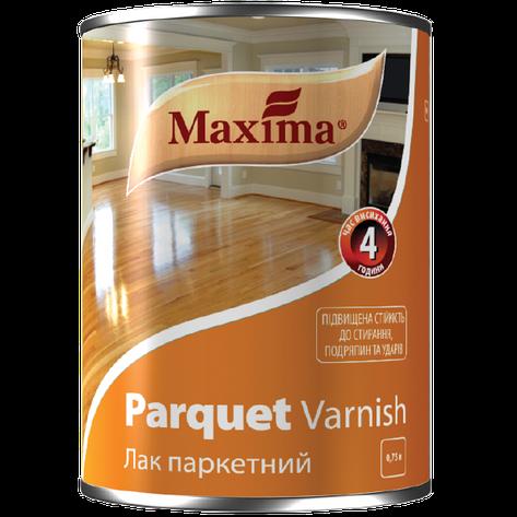"""Лак паркетный алкидно-уретановый TM """"Maxima"""" глянец - 0,75 л, фото 2"""